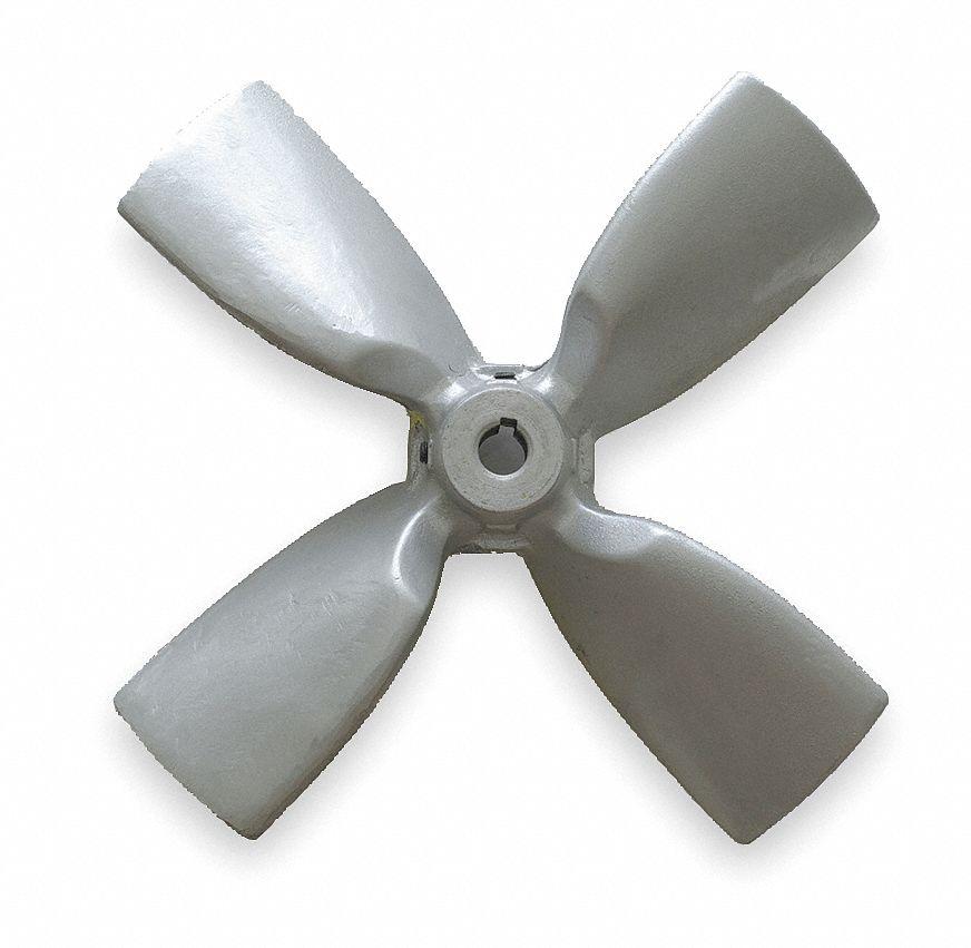 5 Propeller Fan : Dayton propeller in bore cfm gtf