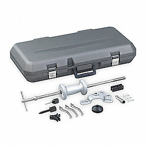Slide Hammer Puller Set,8-Way,5 lb,Case
