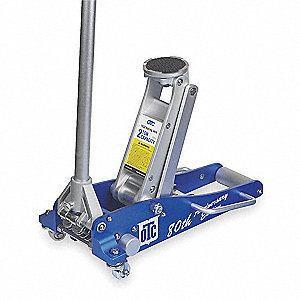 Hydraulic Service Jack,2 tons,3-1/2 In H