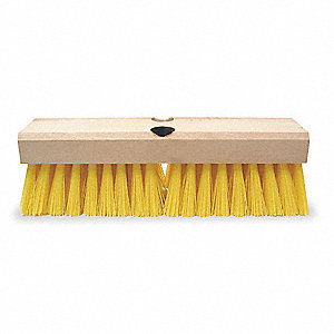 "10"" Hardwood Deck Scrub Brush"