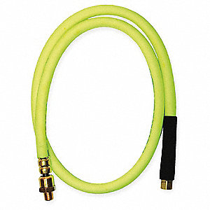 Snubber Hose,3/8 ID x 60 In L,1/4 NPT