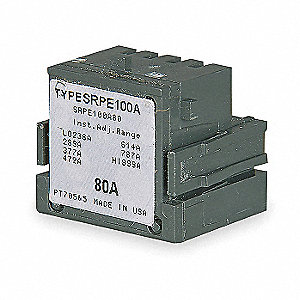 Snap-In Mounting Rating Plug, Sensor Amps: 30A, Plug Amps: 20A, For GE Spectra Circuit Breakers