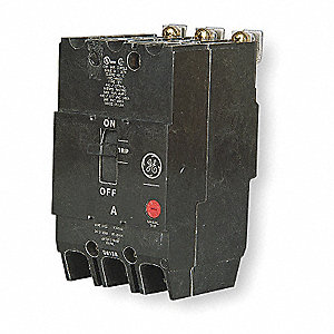 Bolt On Circuit Breaker, 20 Amps, Number of Poles:  3, 277/480VAC AC Voltage Rating
