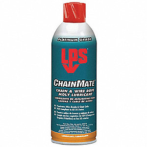 Chain and Wire Rope Lubricant, 16 oz. Aerosol Can