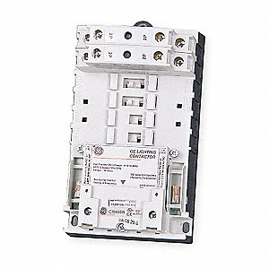 Lighting Magnetic Contactor, 120VAC Coil Volts, Contactor Type: Electrically Held, Number of Poles: