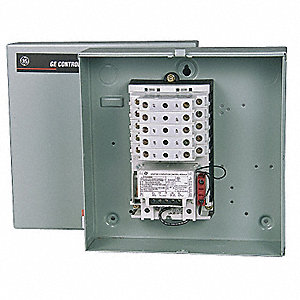 Lighting Magnetic Contactor, 120VAC Coil Volts, Contactor Type: Mechanically Held, Number of Poles: