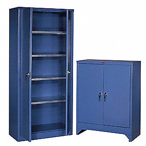 Blue 14 ga. Steel Cabinet Shelf