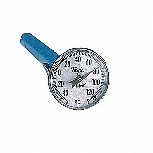 Dial Pocket Thermometer,ABS Plastic