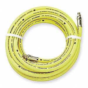 50 ft. Patented Oil Resistant Chemigum Synthetic Rubber Multipurpose Air Hose, Max. Pressure: 500 ps