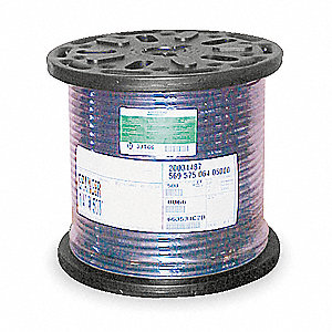 Hose,Air,1/2 In ID x 500 Ft,Black