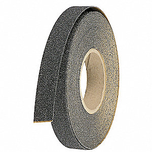 Anti-Slip Tape,Flat Black,1 in x 60 ft.