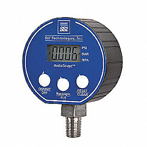 Digital Pressure Gauge,50 PSI MG-9V