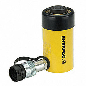 "15 tons Single Acting General Purpose Steel Hydraulic Cylinder, 2"" Stroke Length"