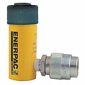 "5 tons Single Acting General Purpose Steel Hydraulic Cylinder, 1"" Stroke Length"