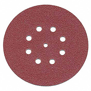 "6"" Hook-and-Loop Sanding Disc Kit, 15 to 60 Micron Grit Range, Package Quantity 10"