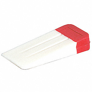 Window Wedge,Plastic,5 1/2x2 1/2In