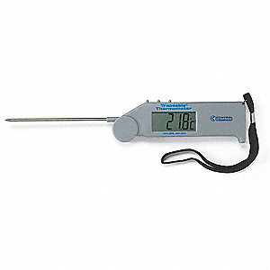 Flip-Open Pocket Thermometer,-58 to 572