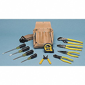 General Hand Tool Kit, Number of Pieces:  12, Application:  Journeyman