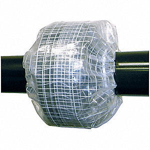 "Spray Shield, ANSI 150, Pipe Size 1/2"", Max. Pressure 150, Polyethylene"