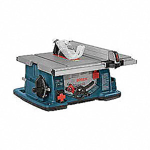 Cntrctr Table Saw,10 In Bld,5/8 In Arbr
