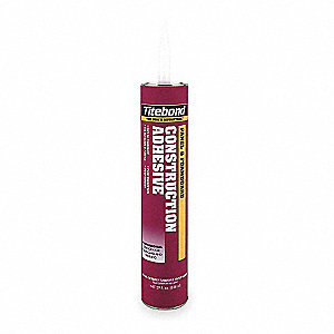 Construction Adhesive, Panel And Foamboard, 10.5 oz. Size