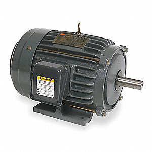 30 HP General Purpose Motor,3-Phase,1770 Nameplate RPM,Voltage 208-230/460,Frame 286T