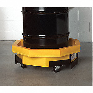 Drum Tray Dolly,800 lb.,5 In. H