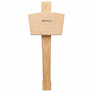 Beechwood Wooden Mallet,15 oz. Head Weight,Beechwood Handle Material