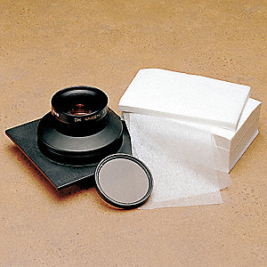 "Lens Cleaning Tissue, Tissue Size 9 x 9"", Tissue Count 1000"