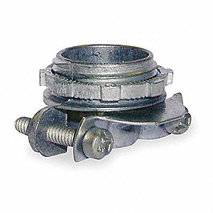 Two Screw Connector,Metal,1 In.
