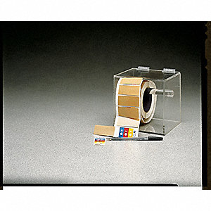 Label Dispenser, Acrylic, Clear
