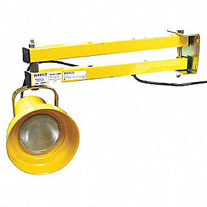 "Incandescent Dock Light, 24"" Arm Length, 150/300 Lamp Watts, 115 Voltage"