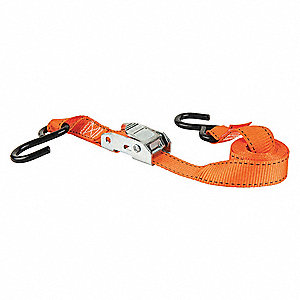 Tie-Down,Cam Buckle,6ft x 1In,300lb,PK4