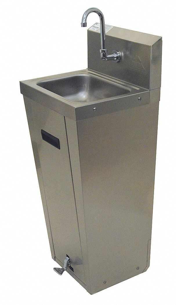 Advance Tabco Stainless Steel Hand Sink With Faucet