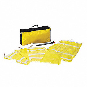 Vacuum Splint Assortment,Yellow,Vinyl