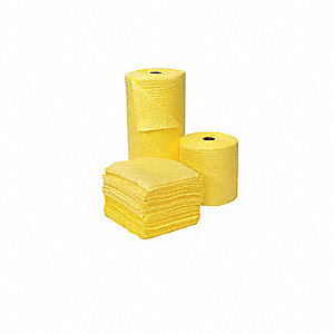 Absorbent Roll,49 gal.,15 In. W,PK2