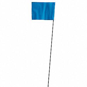 Grainger Approved Marking Flag Blue Blank Vinyl Pk100 3lvd1 3lvd1 Grainger