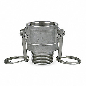 Aluminum Coupler, Coupling Type B, Female Coupler x MNPT Connection Type