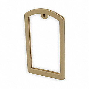 Label Pocket Frame,Pocket Recess,Beige