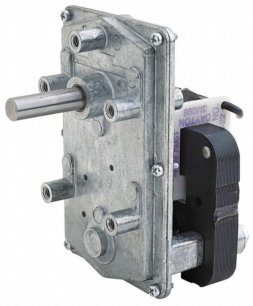 Dayton ac gearmotor 4 rpm open 115v 3m098 3m098 grainger for Dayton gear motor catalog