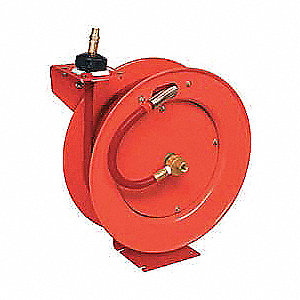 "1/2"", 50 ft. Hose Reel, 300 psi Max. Pressure"