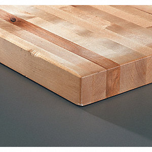 Workbench Top,Hardwood,30x60x1-3/4