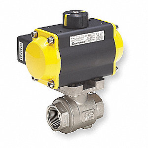 Ball Valve,Pneumatic Actuated,SS,2 In