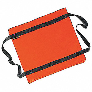 Floatation Cushion,Orange Nylon
