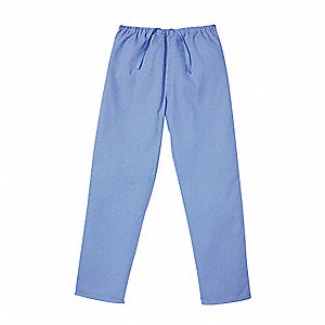 Scrub Pants,Blue,Unisex,L