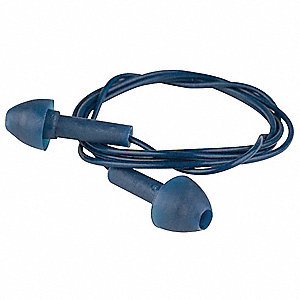 Ear Plugs,24dB,Corded,Univ,PK100
