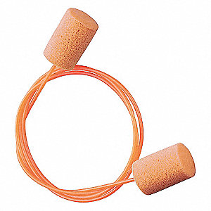 Ear Plugs,30dB,Corded,Univ,PK100