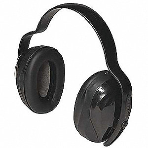 Ear Muff,25dB,Multi-Position,Black