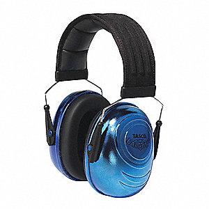 Ear Muff,25dB,Over-the-Head,Blue