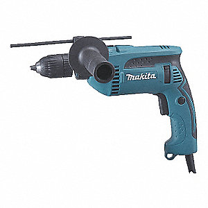 Hammer Drill Kit,1/2 In,6 A,44,800 BPM